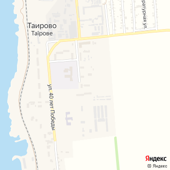Таирово на Яндекс.Картах