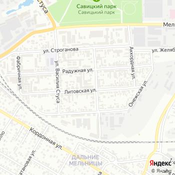 Радуга-N на Яндекс.Картах