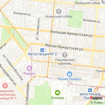 Хаджибей на Яндекс.Картах