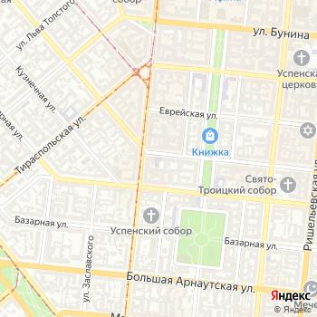 Одесская областная научная библиотека им. М.С. Грушевского на Яндекс.Картах