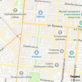 Одесская гимназия №1 им. А.П. Быстриной на Яндекс.Картах