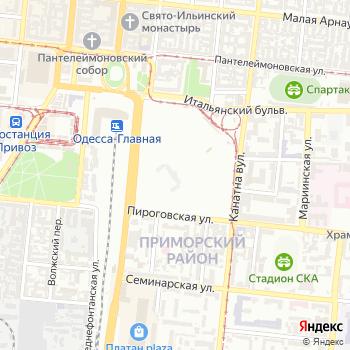 Одесская областная организация всеукраинского профсоюза работников и предпринимателей торговли на Яндекс.Картах
