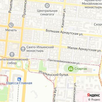 Интурист-Одесса на Яндекс.Картах