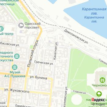 Мореходное училище им. О.И. Маринеско на Яндекс.Картах