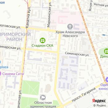 Управление налоговой милиции в Одесской области на Яндекс.Картах