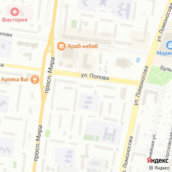 Почта с индексом 173021 на Яндекс.Картах