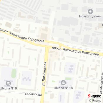 Стиль на Яндекс.Картах
