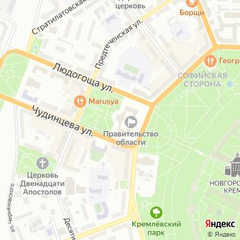 Почта с индексом 173005 на Яндекс.Картах