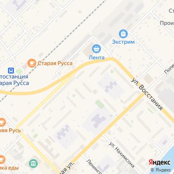 Почта с индексом 175206 на Яндекс.Картах