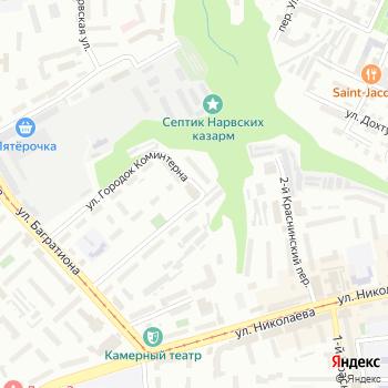АэроБум на Яндекс.Картах