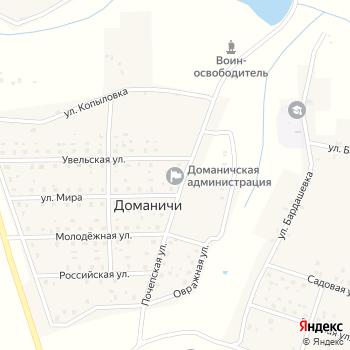 Почта с индексом 243407 на Яндекс.Картах