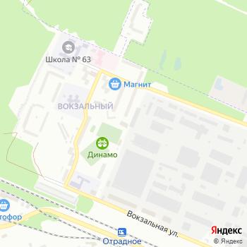 Динамо-Брянск на Яндекс.Картах