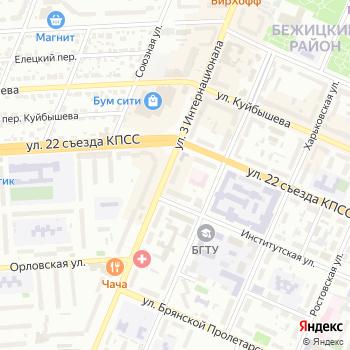 Тюлевый салон на Яндекс.Картах