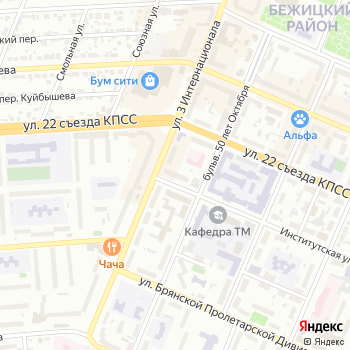 Площадь мастеров на Яндекс.Картах