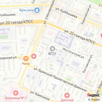 Брянский региональный центр повышения квалификации и переподготовки кадров на Яндекс.Картах