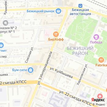 Почта с индексом 241035 на Яндекс.Картах