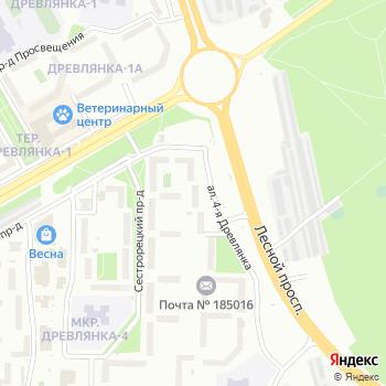 АЗС Карелиянефтепродукт на Яндекс.Картах