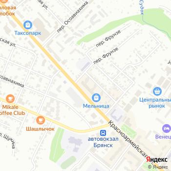 Брянское жилищное бюро на Яндекс.Картах