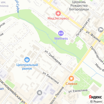 Евроэлемент на Яндекс.Картах
