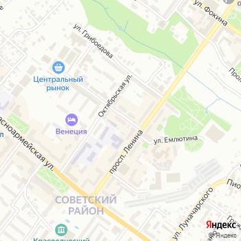 Сеть продуктовых магазинов на Яндекс.Картах
