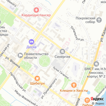 Брянская областная федерация по пейнтболу на Яндекс.Картах