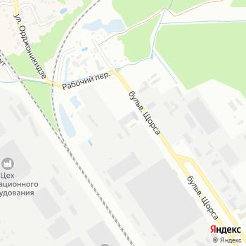 Изотерм на Яндекс.Картах