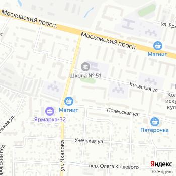 Серебряный бор на Яндекс.Картах