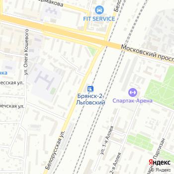 Вокзал Брянск-2 Льговский на Яндекс.Картах
