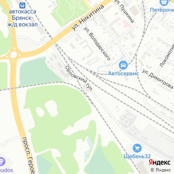 Брянская дистанция пути №51 на Яндекс.Картах