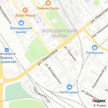 Авега на Яндекс.Картах