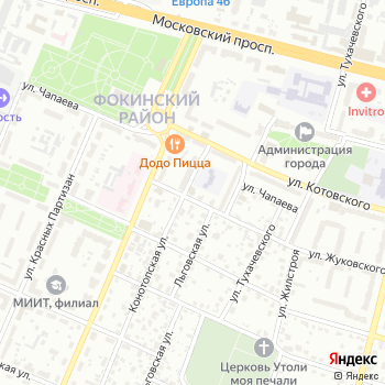 Триумфф на Яндекс.Картах