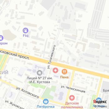 Мозаика на Яндекс.Картах