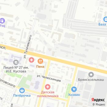 Аэровальс 32 на Яндекс.Картах
