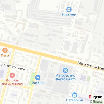 Линия на Яндекс.Картах