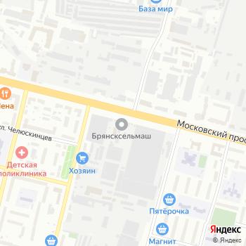 Локомотив на Яндекс.Картах