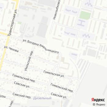 Магазин канцтоваров на ул. Богдана Хмельницкого на Яндекс.Картах