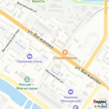 Золушка на Яндекс.Картах