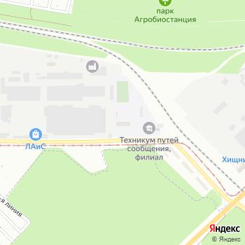 Канат на Яндекс.Картах
