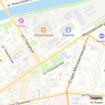 Тенториум на Яндекс.Картах