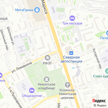 Курскводстрой на Яндекс.Картах