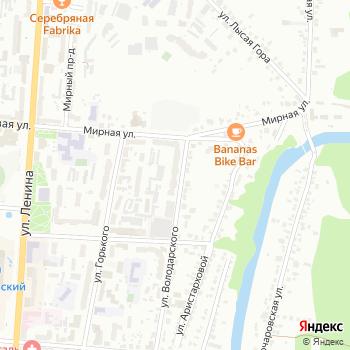 Серконс на Яндекс.Картах