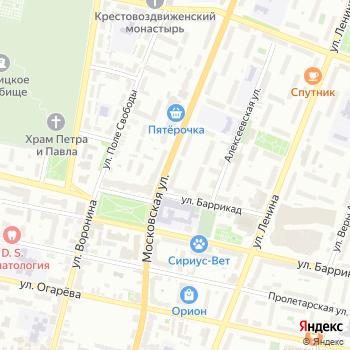 Центр независимых технических исследований на Яндекс.Картах