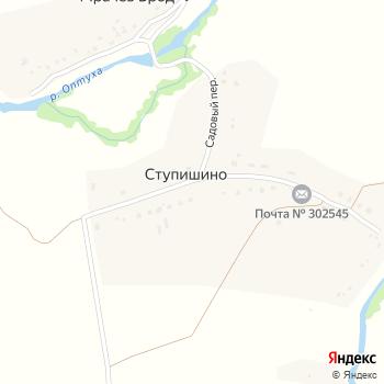 Почта с индексом 302545 на Яндекс.Картах