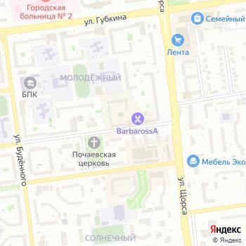 Цветомед на Яндекс.Картах