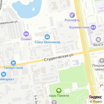 Проф Лига на Яндекс.Картах
