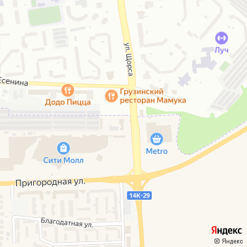 Новые Горизонты на Яндекс.Картах