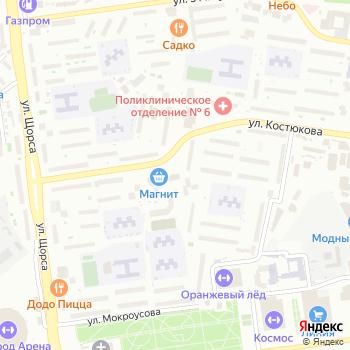 Апрель на Яндекс.Картах
