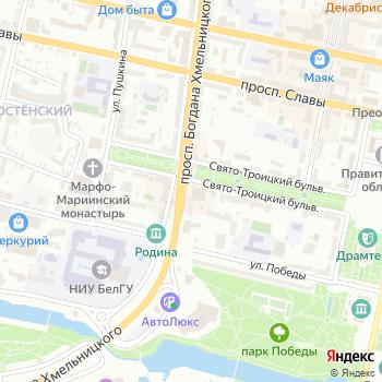 Вояж плюс на Яндекс.Картах