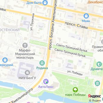 АКБ Росевробанк на Яндекс.Картах