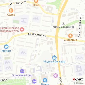 Fitness Line на Яндекс.Картах